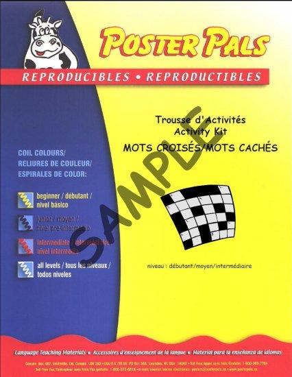 Trousse de mots crois s cach s i tk35 poster for Portent xwrd