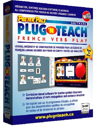 Plug N Teach French Verb Play Sw1 89 99 Poster Pals French Spanish Language Teaching Materials